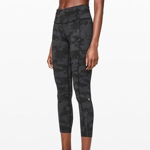 """Lululemon Fast and Free Tight II 25"""" Nulux NWOT"""
